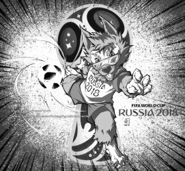 WORLD CUP MASCOT 2018 by marvelmania
