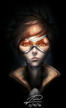 Tracer - Overwatch by CivenE