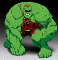 ChambaPatreonMashUps - Mr Incredible HULK by theCHAMBA