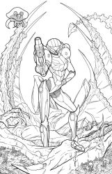 Metroid - Bounty by teamzoth