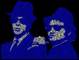 Blues Brothers Type by NateJack