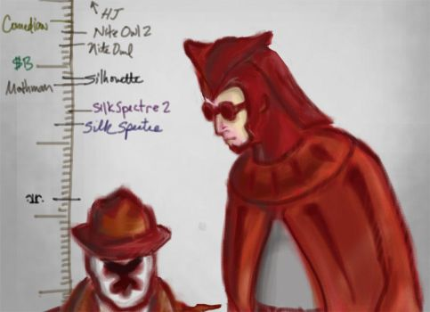Another 'Rorschach is Short' Joke by initialaitch