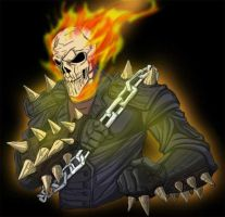 Ghost Rider Color by Genchis