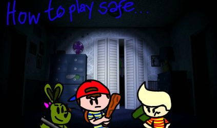 FNF: Playing safe with Lucas, Ness, and Springtrap by Z-Scott0373
