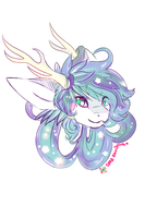 KINTAURUS HEADSHOT PAGEDOLL COMMISSION by Cipple
