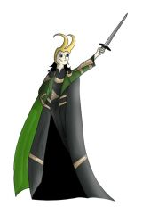 Loki by Bubblepegasus