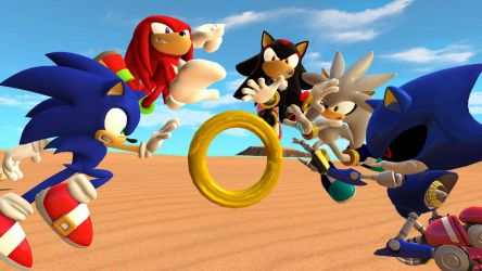 Sonic Rivals 'In A Nutshell' by Nictrain123