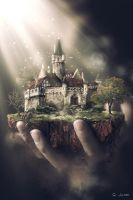 0610 -Hand-world by Q-ping