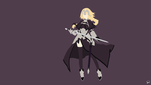 Joan of Arc {Fate/Apocrypha} by greenmapple17