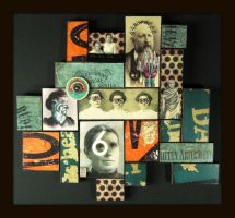 Mixed Media Collage 140 by GregPDX