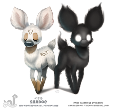Daily Paint 1916# Shadoe by Cryptid-Creations