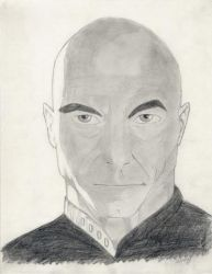 Captain Picard by agcpictures