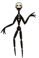 Fnaf 6 Minigame Puppet by Y-MMDere