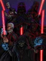 The Sith Lords by JeffyP