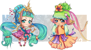 Adopt [CLOSED] | Little Princesses by greenmaggot-designs