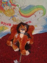 Torn Up Lion 2 by Plush-Artist