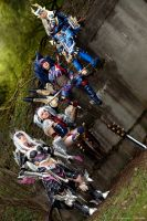 Monster Hunter 3U Group Cosplay by Evil-Siren