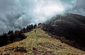 Path from Monte Tamaro to Monte Lema - Tessin by Woscha
