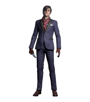 The Evil Within 2 Stefano Valentini Render PNG by GamingDeadTv
