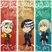 Soul Eater Bookmarks preview by life-take