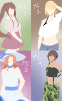 MCs in Summer! by C-Chesle