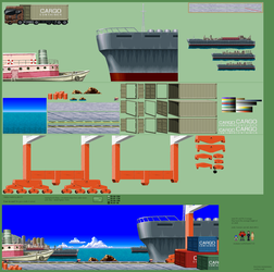 Background Compilation: Harbor by jebo14