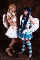 Panty and Stocking Cosplay by SusanEscalante