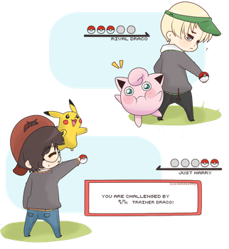 Drarry - Pokemon! by Cremebunny
