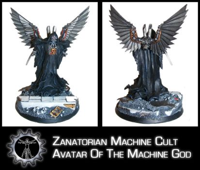Avatar Of The Machine God by Proiteus