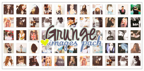 New Images - Grunge Pack by PrettyLadySwag