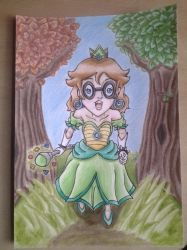 Princess Iggyada a trip in the forest by BveanikaS