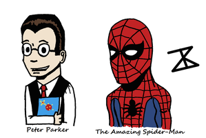 Peter Parker is The Amazing Spider-Man by FreakyComics