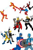 Marvel vs Ultimate Marvel: the ultimate crossover! by ultimatejulio