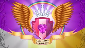 Cutie Mark Crusaders Crest by RockMedved