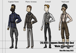 Main Characters by KidneyShake