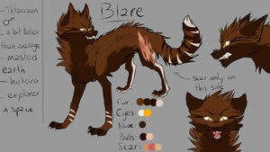 Blare reference sheet by L-Enfant-Sauvage