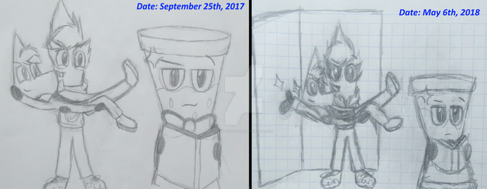 Draw The Squad - Comparison by CadenFeather