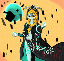:COLLAB: Twili Midna by PrinsesDaisyfanfan1