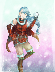 LS: Cicely Claus by Ribbon-Knight