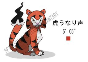 Tiger Fakemon by TRspicy