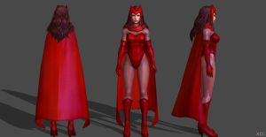 Scarlet Witch FF by SSingh511