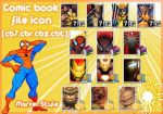Comic Book File Icon by necro-rk