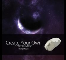 Create Your Own Space Universe With Mouse ! by MuhammadRiza