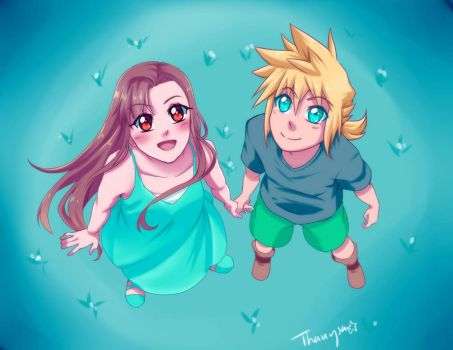 Make a Promise - FFVII by Thanysa
