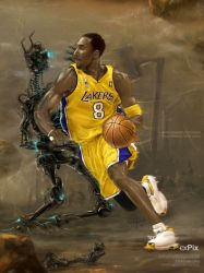 Space Kobe Bryant by expix