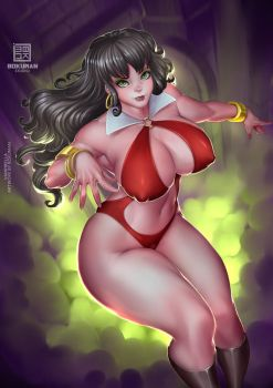 Vampirella Patreon by bokuman