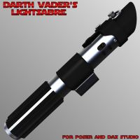 Darth Vader's Lightsabre by mattymanx