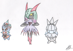 x3 Threat- U. Gothita''H. Kirlia''N. Smoochum