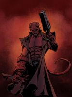Hellboy  by 2013mparker