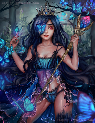 Butterfly Queen by Seojinni
